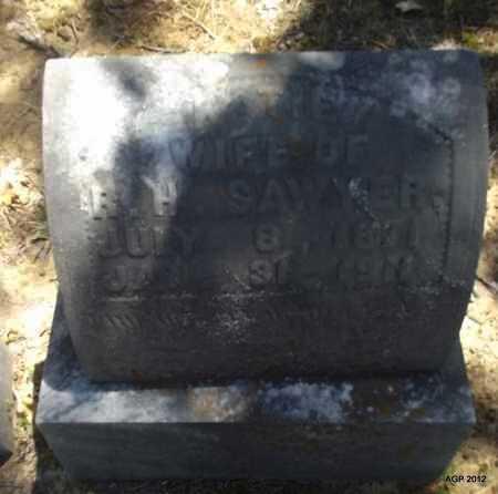 SAWYER, KATIE - Monroe County, Arkansas | KATIE SAWYER - Arkansas Gravestone Photos