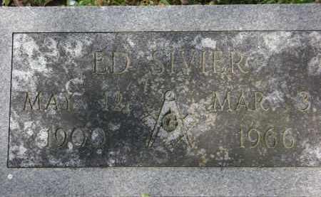 SIVIER, ED - Monroe County, Arkansas | ED SIVIER - Arkansas Gravestone Photos