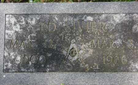 SIVIER, ED - Monroe County, Arkansas   ED SIVIER - Arkansas Gravestone Photos