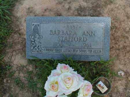 STAFFORD, BARBARA ANN - Monroe County, Arkansas | BARBARA ANN STAFFORD - Arkansas Gravestone Photos