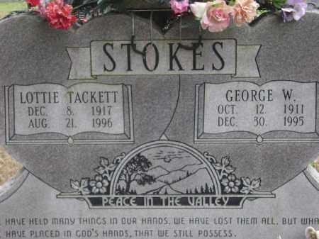 STOKES, GEORGE W. - Monroe County, Arkansas | GEORGE W. STOKES - Arkansas Gravestone Photos