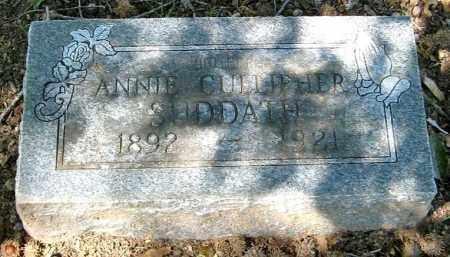 SUDDATH, ANNIE - Monroe County, Arkansas | ANNIE SUDDATH - Arkansas Gravestone Photos
