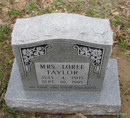 TAYLOR, LOREE - Monroe County, Arkansas | LOREE TAYLOR - Arkansas Gravestone Photos