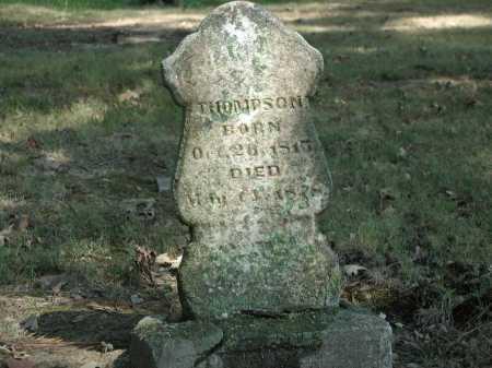 THOMPSON, FRANKLIN - Monroe County, Arkansas | FRANKLIN THOMPSON - Arkansas Gravestone Photos