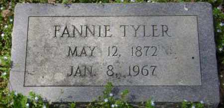 TYLER, FANNIE - Monroe County, Arkansas   FANNIE TYLER - Arkansas Gravestone Photos