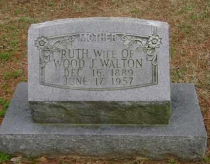 WALTON, RUTH - Monroe County, Arkansas | RUTH WALTON - Arkansas Gravestone Photos