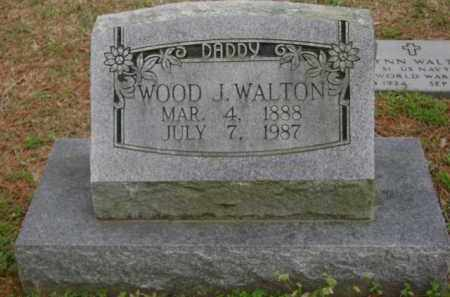 WALTON, WOOD J. - Monroe County, Arkansas | WOOD J. WALTON - Arkansas Gravestone Photos