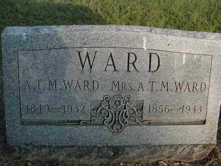 WARD, A.T.M. - Monroe County, Arkansas   A.T.M. WARD - Arkansas Gravestone Photos