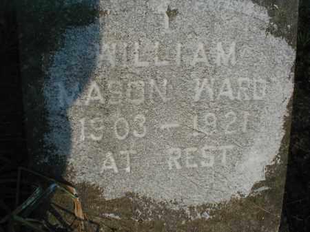 WARD, WILLIAM MASON - Monroe County, Arkansas | WILLIAM MASON WARD - Arkansas Gravestone Photos