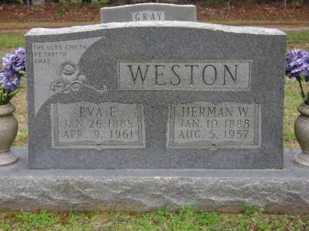 WESTON, EVA E. - Monroe County, Arkansas | EVA E. WESTON - Arkansas Gravestone Photos