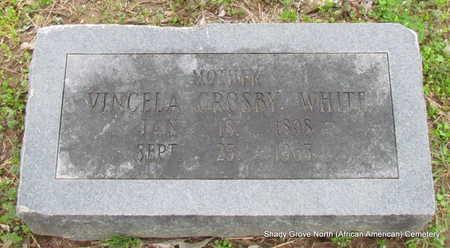 WHITE, VINCELA CROSBY - Monroe County, Arkansas | VINCELA CROSBY WHITE - Arkansas Gravestone Photos
