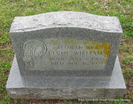 WILLIAMS, ELVUE - Monroe County, Arkansas   ELVUE WILLIAMS - Arkansas Gravestone Photos