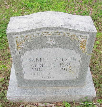 WILSON, ISABELL - Monroe County, Arkansas   ISABELL WILSON - Arkansas Gravestone Photos