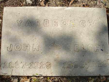 YARBROUGH, DELPHI - Monroe County, Arkansas | DELPHI YARBROUGH - Arkansas Gravestone Photos