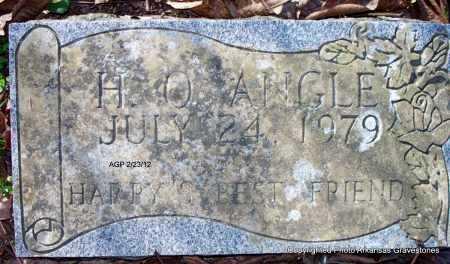 ANGLE, H O - Montgomery County, Arkansas   H O ANGLE - Arkansas Gravestone Photos