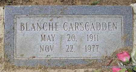 CARSCADDEN, BLANCHE - Montgomery County, Arkansas | BLANCHE CARSCADDEN - Arkansas Gravestone Photos