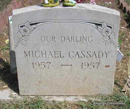 CASSADY, MICHAEL - Montgomery County, Arkansas   MICHAEL CASSADY - Arkansas Gravestone Photos