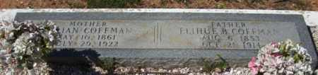 COFFMAN, ELIHUE B - Montgomery County, Arkansas | ELIHUE B COFFMAN - Arkansas Gravestone Photos