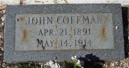 COFFMAN, JOHN - Montgomery County, Arkansas | JOHN COFFMAN - Arkansas Gravestone Photos