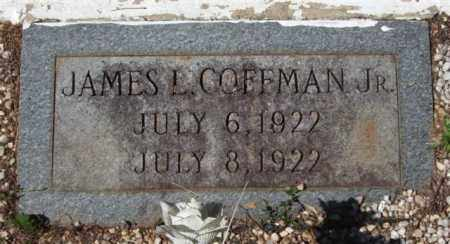 COFFMAN, JAMES L, JR - Montgomery County, Arkansas | JAMES L, JR COFFMAN - Arkansas Gravestone Photos