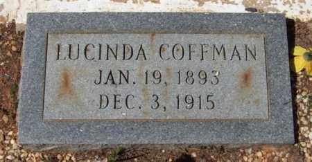 COFFMAN, LUCINDA - Montgomery County, Arkansas   LUCINDA COFFMAN - Arkansas Gravestone Photos