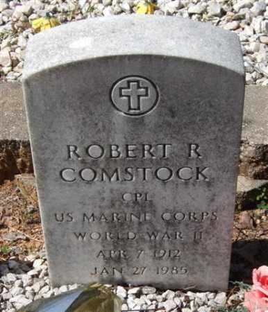 COMSTOCK (VETERAN WWII), ROBERT R - Montgomery County, Arkansas | ROBERT R COMSTOCK (VETERAN WWII) - Arkansas Gravestone Photos