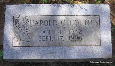 COUNTS, HAROLD C - Montgomery County, Arkansas | HAROLD C COUNTS - Arkansas Gravestone Photos