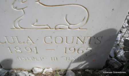 COUNTS, LULA - Montgomery County, Arkansas   LULA COUNTS - Arkansas Gravestone Photos