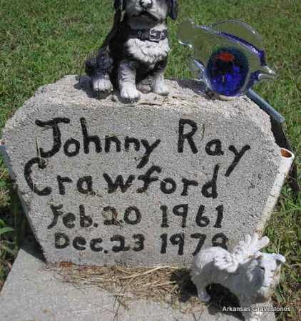 CRAWFORD, JOHNNY RAY - Montgomery County, Arkansas | JOHNNY RAY CRAWFORD - Arkansas Gravestone Photos