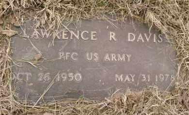 DAVIS  (VETERAN), LAWRENCE R - Montgomery County, Arkansas | LAWRENCE R DAVIS  (VETERAN) - Arkansas Gravestone Photos