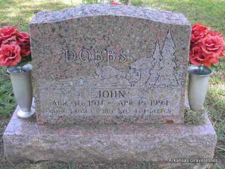DOBBS, JOHN - Montgomery County, Arkansas | JOHN DOBBS - Arkansas Gravestone Photos