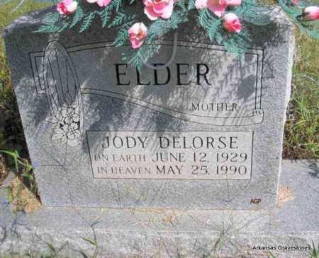 ELDER, JODY DELORSE - Montgomery County, Arkansas | JODY DELORSE ELDER - Arkansas Gravestone Photos