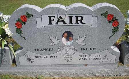 FAIR, FREDDY J - Montgomery County, Arkansas   FREDDY J FAIR - Arkansas Gravestone Photos