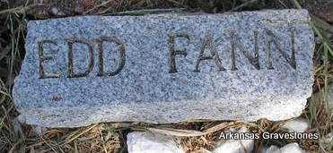 FANN, EDD - Montgomery County, Arkansas   EDD FANN - Arkansas Gravestone Photos