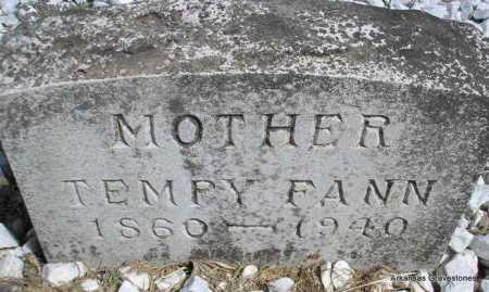 """PIPPIN FANN, TENNESSEE """"TEMPY"""" - Montgomery County, Arkansas 