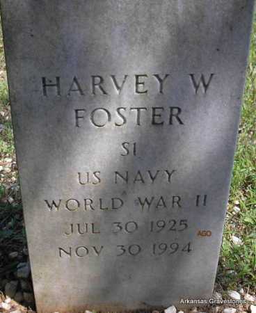 FOSTER   (VETERAN WWII), HARVEY W - Montgomery County, Arkansas | HARVEY W FOSTER   (VETERAN WWII) - Arkansas Gravestone Photos