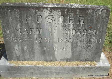 FOSTER, MORRIS - Montgomery County, Arkansas | MORRIS FOSTER - Arkansas Gravestone Photos