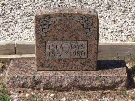 RYAN HAYS, ELLA - Montgomery County, Arkansas   ELLA RYAN HAYS - Arkansas Gravestone Photos