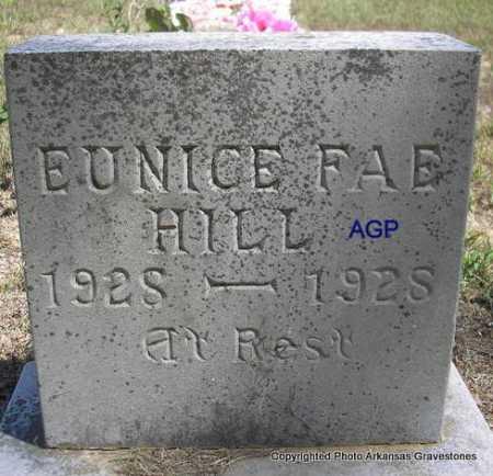HILL, EUNICE FAE - Montgomery County, Arkansas | EUNICE FAE HILL - Arkansas Gravestone Photos