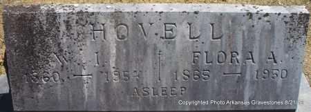 HOVELL, FLORA A - Montgomery County, Arkansas | FLORA A HOVELL - Arkansas Gravestone Photos
