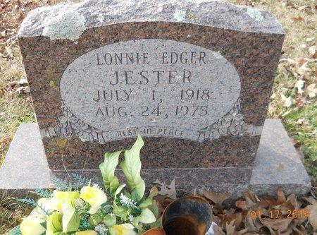 JESTER, LONNIE EDGER - Montgomery County, Arkansas | LONNIE EDGER JESTER - Arkansas Gravestone Photos