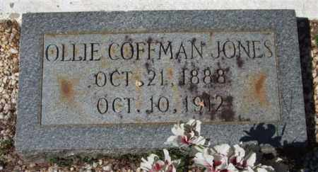 JONES, OLLIE - Montgomery County, Arkansas | OLLIE JONES - Arkansas Gravestone Photos
