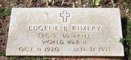 KIMERY (VETERAN WWII), EUGENE B - Montgomery County, Arkansas | EUGENE B KIMERY (VETERAN WWII) - Arkansas Gravestone Photos