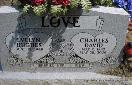 LOVE, CHARLES DAVID - Montgomery County, Arkansas   CHARLES DAVID LOVE - Arkansas Gravestone Photos