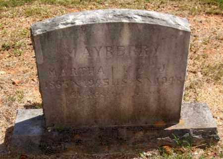 MAYBERRY, MARTHA - Montgomery County, Arkansas | MARTHA MAYBERRY - Arkansas Gravestone Photos
