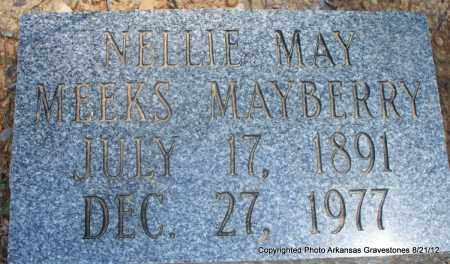 MEEKS MAYBERRY, NELLIE MAY - Montgomery County, Arkansas | NELLIE MAY MEEKS MAYBERRY - Arkansas Gravestone Photos