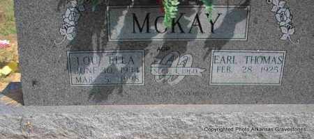 MCKAY, LOU ELLA - Montgomery County, Arkansas | LOU ELLA MCKAY - Arkansas Gravestone Photos