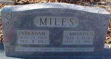 BEAUCHAMP MILES, AMANDA FRANCIS - Montgomery County, Arkansas   AMANDA FRANCIS BEAUCHAMP MILES - Arkansas Gravestone Photos