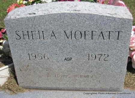 MOFFATT, SHEILA - Montgomery County, Arkansas   SHEILA MOFFATT - Arkansas Gravestone Photos