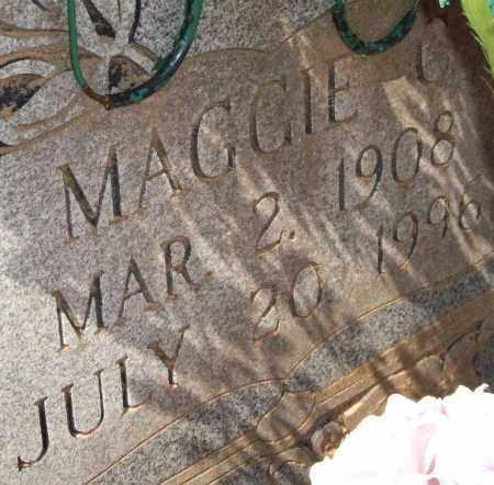 MONTGOMERY, MAGGIE C  (CLOSEUP) - Montgomery County, Arkansas | MAGGIE C  (CLOSEUP) MONTGOMERY - Arkansas Gravestone Photos